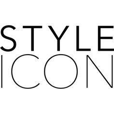 Style Icon text