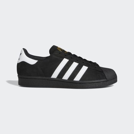 Superstar Core Black, Cloud White and Gold Shoes   adidas US