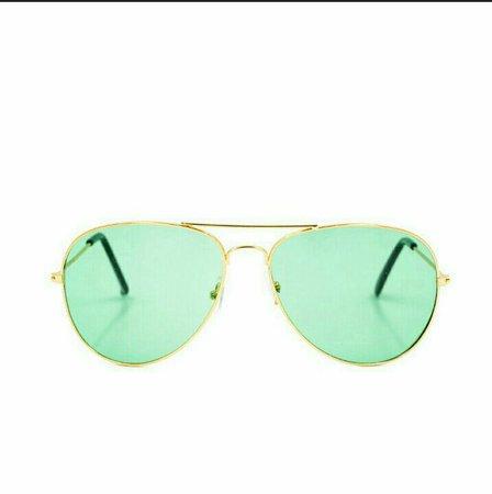 green sunnies