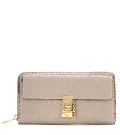 Drew Long leather wallet