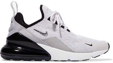 Air Max 270 Mesh Sneakers - Light gray