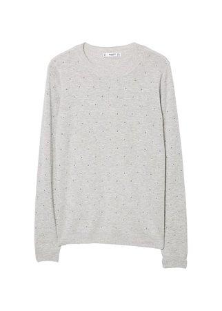 MANGO Bead sweater