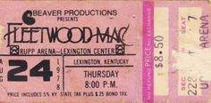 Fleetwood Mac ticket
