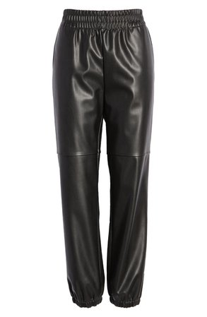 Faux Leather Joggers | Nordstrom