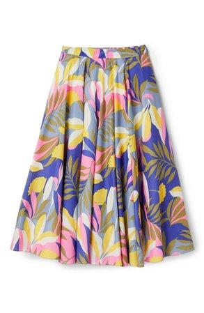 Boden Corinne Floral Print Midi Skirt | Nordstrom