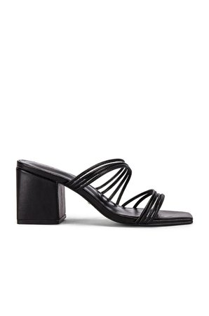 RAYE Helix Heel in Black | REVOLVE