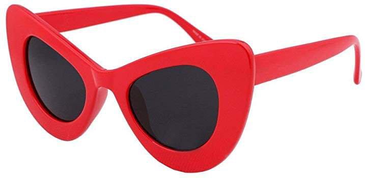 Amazon.com: FEISEDY Retro Cat Eye Women Sunglasses Cateye Acetate Frame Polycarbonate Lenses B2239: Clothing