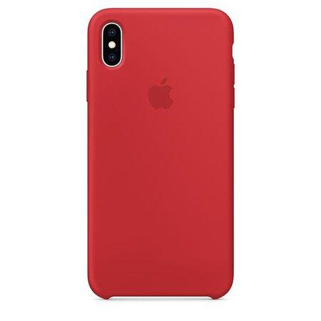 iPhone XS Max Silicone Case - Hibiscus - Apple