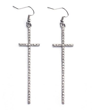 cross earrings - Google Search