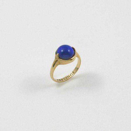 Merewif Feelings Ring - GOLD/MOOD STONE | Garmentory
