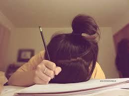 girl doing homework tumblr - Google Search