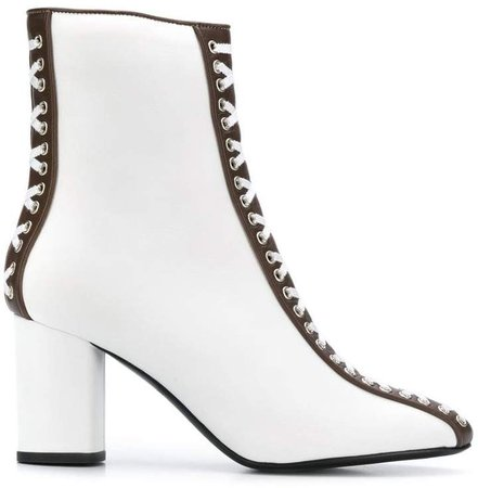 Racine Carree lace detail boots