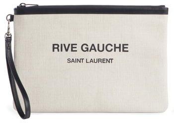 Rive Gauche Canvas Pouch