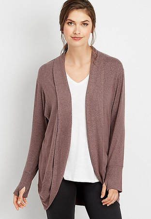 cocoon long sleeve cardigan | maurices