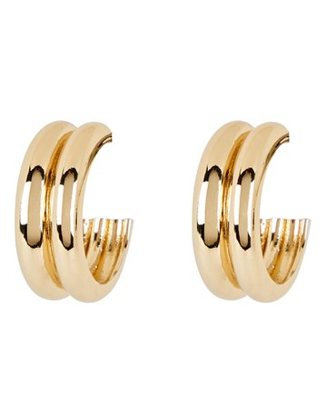 Young Frankk Varro Hoop Earrings | INTERMIX®