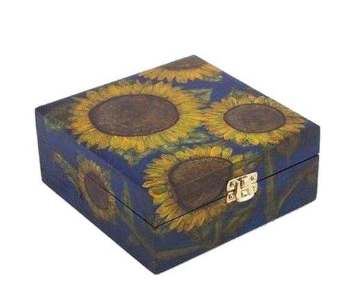 Sunflower blue box