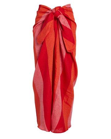 Mara Hoffman | Izzi Striped Sarong | INTERMIX®