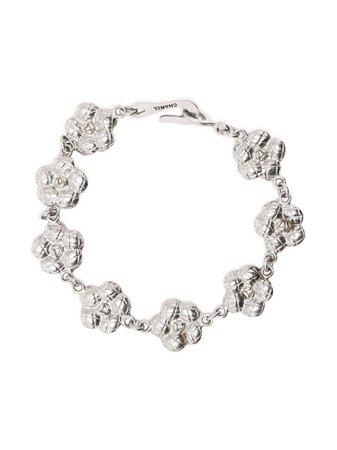 Chanel Pre-Owned 1990s Camélia Motif Bracelet - Farfetch