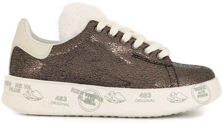 Raised-Sole Trainers