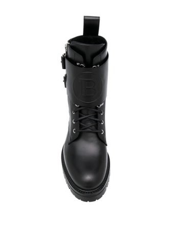 Balmain Phil military-style Boots - Farfetch