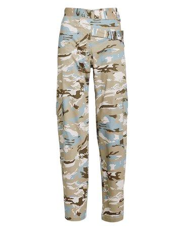 Daisy Camo Cargo Pants