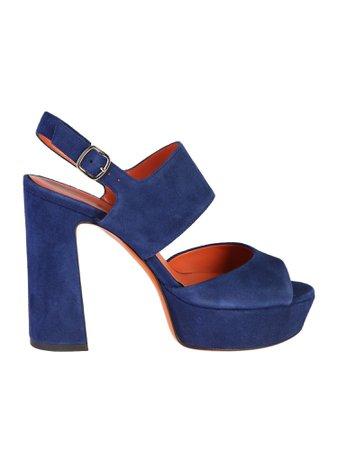 Santoni Suede Leather Sandals