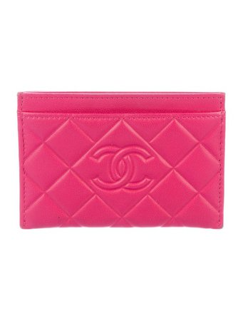 Chanel Quilted Card Holder - Accessories - CHA452464   The RealReal
