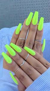 neon green nails and feet - Google Search