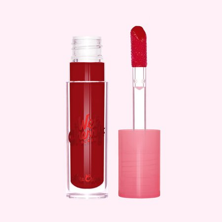 Maraschino Cherry Red Shiny Liquid Lip Gloss - Lime Crime