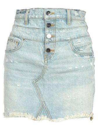 Amiri Doublewaist Skirt