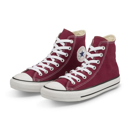 Converse All Star Hi Shoes Chucks Maroon Wine Red M9613 EUR 38