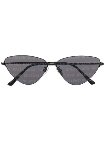 Balenciaga Eyewear Invisible Solglasögon Med Cat eye-bågar - Farfetch