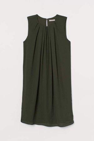 A-line Dress - Green