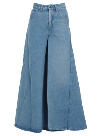 Y/project Y/project Denim Pants Skirt