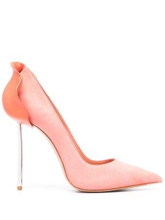 Le Silla Petalo high-heel pumps pink 3120R100L3PPVEL - Farfetch