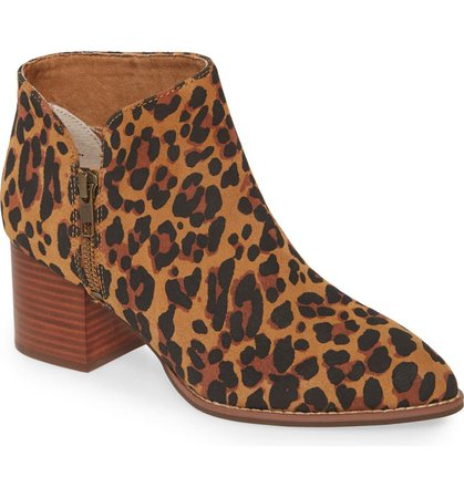 Seychelles Chaparral Bootie Animal Print