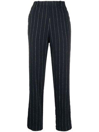 Forte Forte Pinstriped Trousers - Farfetch