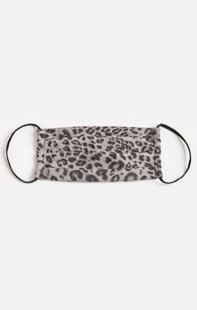 Grey Leopard Reusable Face Mask (2-Pack) – Z SUPPLY