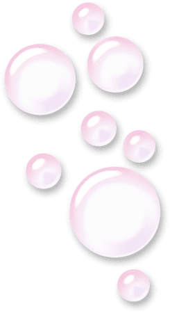 ftestickers bubbles transparent 3deffect pink...