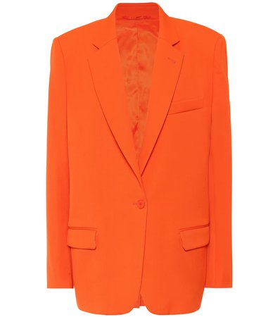 The Attico - Wool-blend blazer | Mytheresa