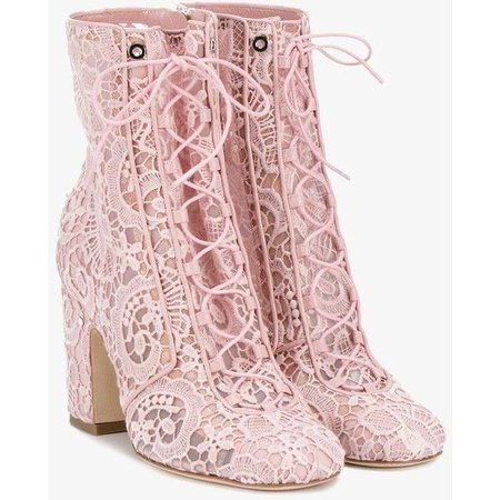 Laurence Dacade Milly Lace Boots ($490)