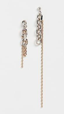 Justine Clenquet Mini Gloria Hoop Earrings | SHOPBOP