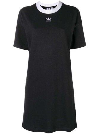 Adidas Trefoil Logo T-shirt Dress - Farfetch