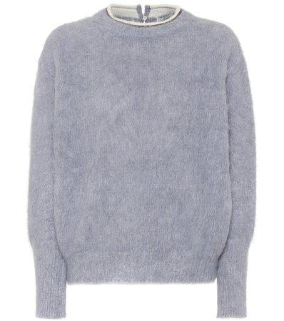 Brunello Cucinelli - Alpaca and mohair-blend sweater | Mytheresa
