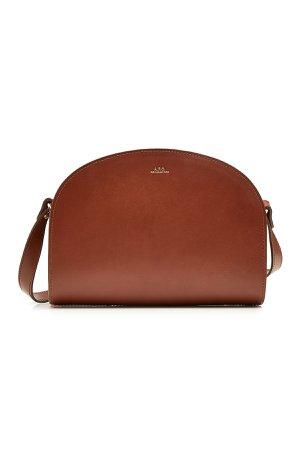 Demi Lune Leather Shoulder Bag Gr. One Size