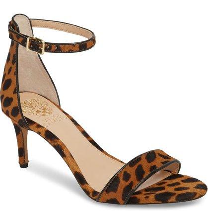 Vince Camuto Sebatini Genuine Calf Hair Sandal (Women) | Nordstrom