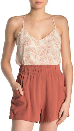 Printed Strappy Camisole