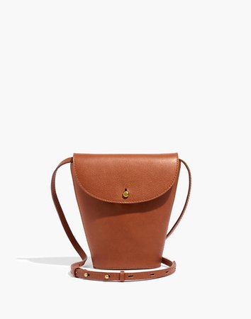 The Memphis Crossbody Bag in Leather brown