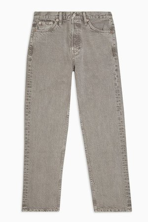 Taupe Fashion Jeans   Topshop