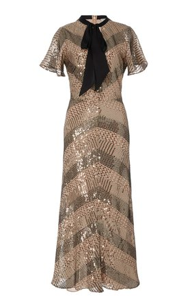 Platinum Midi Dress by Temperley London | Moda Operandi